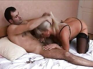 2 mature goddess and young guys.