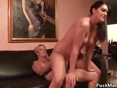 Jocelyn And Sheila Marie Play With A Dildo